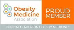 Proud Member Obesity Medicine Association - Clinical Leaders in Obesity Medicine® | badge